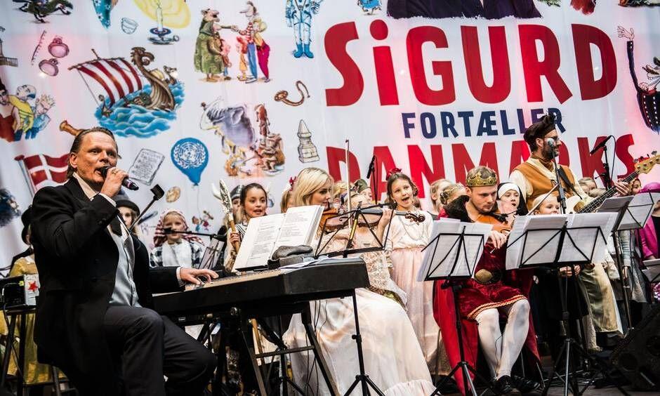 Shows med Sigurds Danmarkshistorie