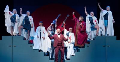 Sigurds Danmarkshistorie - Sigurd Barrett på Det Kongelige Teater