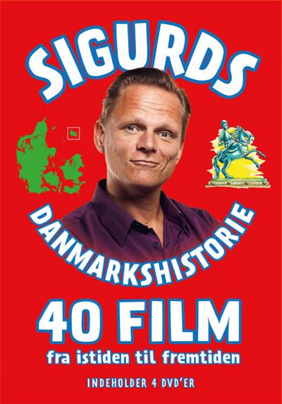 DVD med alle 40 film om Sigurds Danmarkshistorie