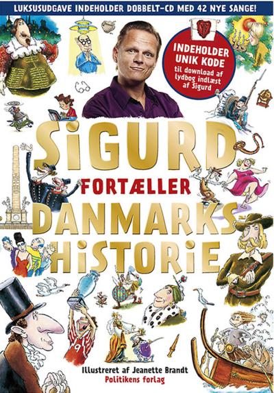 Sigurds Danmarkshistorie 2 bøger